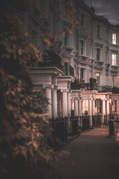 """freddie-photography: """" 'Notting Hill at Dusk' By Freddie Ardley Photography Check out Freddie's:Facebook Twitter Instagram Shop """""""