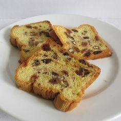 Gyümölcskenyér: dióval, mazsolával - fincsi! A 17, French Toast, Breakfast, Food, Morning Coffee, Essen, Meals, Yemek, Eten