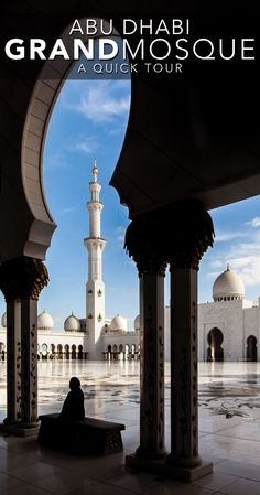 Abu Dhabi Grand Mosque - A quick stopover tour of Sheikh Zayed Mosque