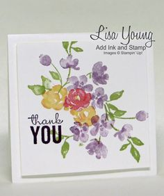 Painted Petals stamp set. In Canada, get Stampin' Up! at http://tracyelsom.stampinup.net