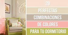 20Perfectas combinaciones decolores para tudormitorio