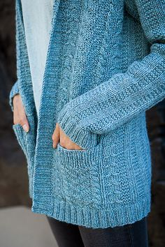Ravelry: Straight and Arrow Cardigan pattern by Stacey Gerbman Knit Cardigan Pattern, Sweater Knitting Patterns, Knit Patterns, Free Knitting, Baby Knitting, Knitted Coat Pattern, Beginner Knitting, Knitting Ideas, Knitting Projects
