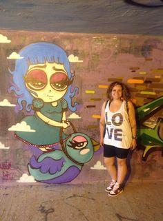 Graffiti passarinho