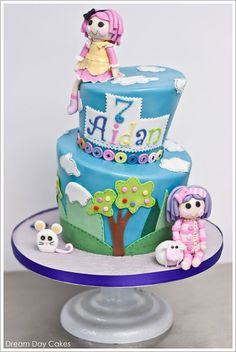 Lalaloopsy Birthday Cake by Dream Day Cakes  |  TheCakeBlog.com