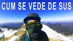 Cum se vede de sus, ascensiunea catre Varful Ciucas