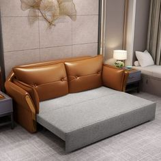 The best sleeper sofa & sofa transitional beds – Home Decor Bedroom Seating, Bedroom Bed Design, Small Room Bedroom, Living Room Decor Furniture, Space Saving Furniture, Furniture Ideas, Sofa Sofa, Sofas, Sofa Cumbed Design