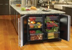 Great idea!  Want a new kitchen?  5 Trends in Kitchen Design