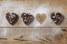 Cuori di salame di cioccolato Bocon