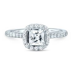 I love! Helzberg Diamond Masterpiece® 1 ct. tw. Diamond Engagement Ring in 18K Gold available at #HelzbergDiamonds. US $8499 #yikes