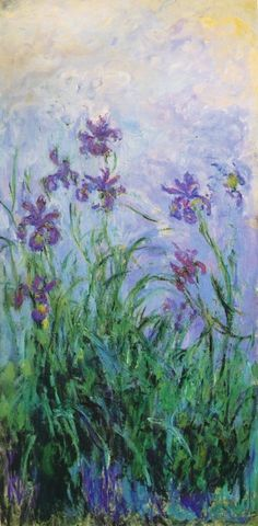Claude Monet, Irises, 1915-22