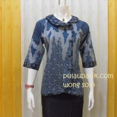 model baju blus batik kerja BB136 Rp 75000