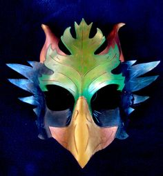 Gryphon Mask by TheOrrchard on Etsy