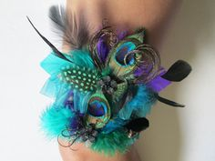 Are you into Faeries & Nymphs for your Wedding Theme? Your beautiful #Peacock feather #Wedding #Garters are found at www.etsy.com/shop/TheNakedOrchid    Bridal Wedding Garter Set Teal /Jade Green by NakedOrchidGarters, $72.00