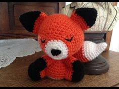 Amigurumi Fox (Free Pattern)