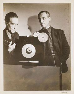 Marcel Duchamp and Hans Richter
