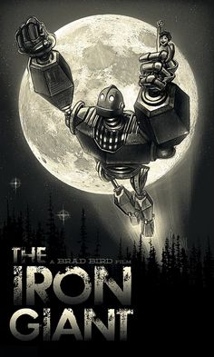 The Iron Giant poster by Paul Shipper