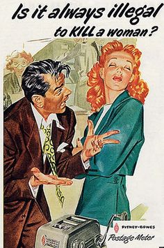 Yes.  Yes, it is.  sexist vintage advertisements | AD-facebook.jpg