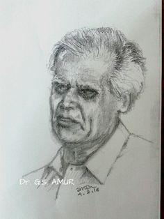 Dr GS Amur, Literary Scholar..