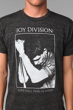 Joy Division Love Will Tear Us Apart Tee  #UrbanOutfitters