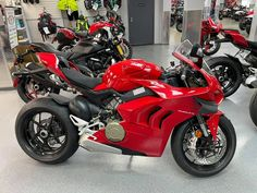 Year after year, the Panigale V4 is renewed to become faster and more exciting on the track for both the amateur and the professional rider. #Ducati #StreetBikes #2021PanigaleV4 #Euro5 #PetesCycle Severna Park, Ducati Motorcycles, Street Bikes, Sport Bikes, Vehicles, Track, Sportbikes, Runway, Sport Motorcycles