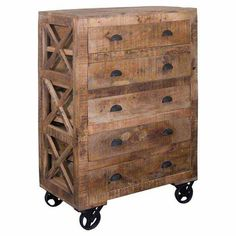 Found it at Wayfair - 5 Drawer Accent Chest in Aged Patina