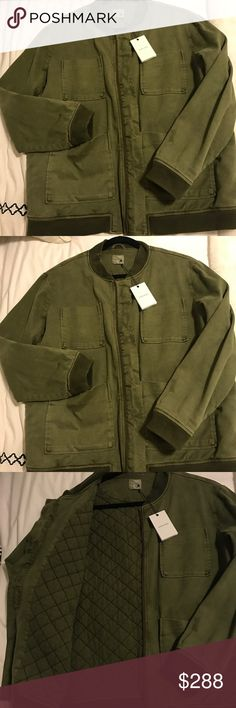 ANINE BING OVERSIZED ARMY GREEN BOMBER NWT Brand new, with tags ANINE Bing most popular jacket , RUNS LARGE. Size medium but actually feels like a LARGE Anine Bing Jackets & Coats Utility Jackets