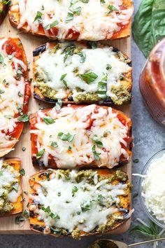 Easy Grilled Sweet Potato Pizzas