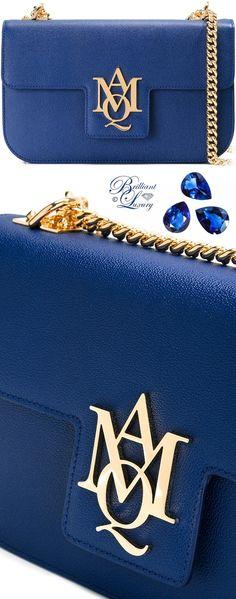 Brilliant Luxury by Emmy DE ♦ Alexander McQueen AMQ Pouch With Strap