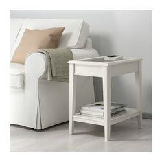 LIATORP Sofabord - hvid/glas - IKEA