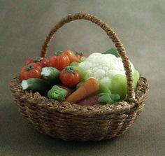 1/12 scale handmade dollhouse miniature Vegetable by minicris