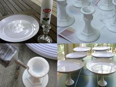 How to make a cake stand