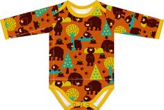 Materialien:  * Jersey Lillestoff - Bears  (Breite 150cm) ( Babybody )   50cm ( Größe 50 - 62 )   75cm ( Größ...
