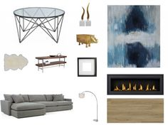 Get the Look - modern living room from Scott McGillivray's Reno to Reveal