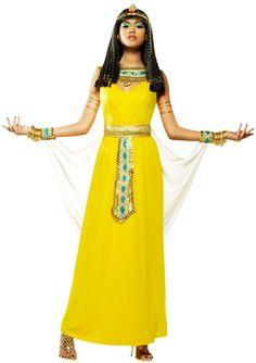 Goddess Cleopatra Adult Women's Costume Available on TrendyHalloween.com!  #Goddess #Egyptian #Cleopatra #Queen #Halloween #Costume