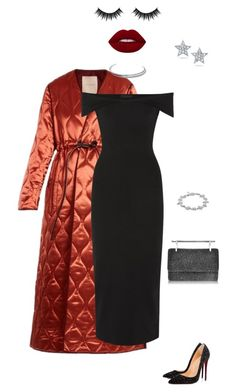 """12"" by nezabydka on Polyvore featuring мода, Roksanda, Christian Louboutin, The Row, Morphe, M2Malletier, JULIANNE, Betsey Johnson и All Blues"