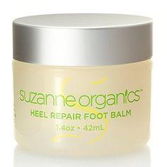Suzanne Somers Organics Heel Help Foot Balm 1.4 oz