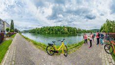 En bicicleta por Valonia. De Namur a Dinant por la vera del Río Mosa