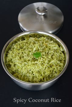 Coconut Rice Recipes Indian, Indian Food Recipes, Vegetarian Recipes, Cooking Recipes, Vegetarian Lunch, Snack Recipes, Yummy Rice Dishes, Tofu, Cooking Basmati Rice