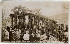 """""""Opening of West Hobart Tramway extension"""""""