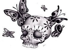 Day of the Dead Sugar Skull by iluv2rock99