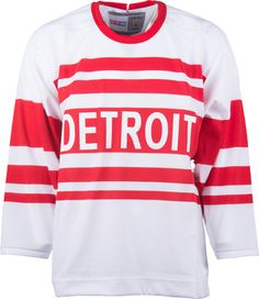 Detroit Red Wings CCM Vintage 1929 White Replica NHL Hockey Jersey Nhl  Hockey Jerseys 2e8169f23