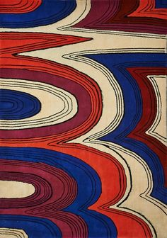 Edward Fields; Wool Rug, 1970.