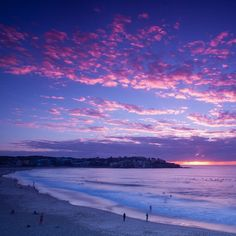 Sunrise at Bondi Beach, Sydney, Australia Bondi Beach Australia, Sydney Australia, Australia Travel, Dream Vacations, Vacation Spots, Great Places, Places To See, Splash Photography, Sunrise Photography