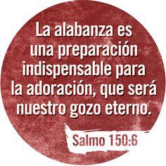 ¡Que alaben a Dios todos los seres vivos! ¡Alabemos a nuestro Dios! Salmo 150:6 TLA #Versiculos - #Biblia - #Dios