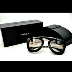 Nwt Prada sunglasses Gorgeous super popular new with case and dust cloth Prada Accessories Glasses