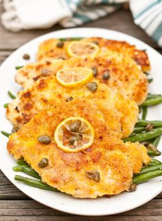 Panko breadcrumbs make this Chicken Piccata delightfully crunchy.