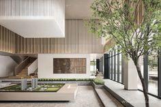 Sales Center, Interior Decorating, Interior Design, Atrium, Model Homes, Elle Decor, Pavilion, Garage Doors, Stairs