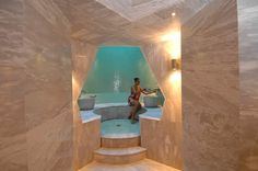 Turkish bath separate section