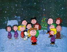 """I watched """"A Charlie Brown Christmas"""" every year. I still do."""