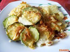 CALABACINES A LA SICILIANA Banana French Toast, Patties Recipe, Tasty, Yummy Food, Cooking Recipes, Healthy Recipes, Vegetable Recipes, Vegan Vegetarian, Italian Recipes